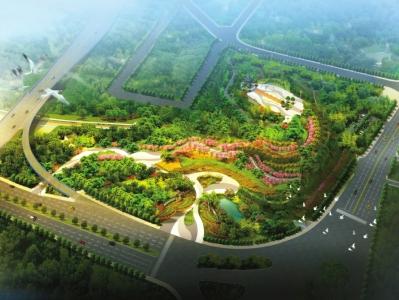 由于周边住宅区较多,该公园属于社区公园,能够服务4街区,服务半径约1